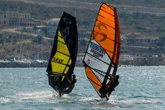 Alacati windsurf paraíso Foto de archivo