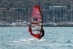 Alacati windsurf paradise Royalty Free Stock Photography