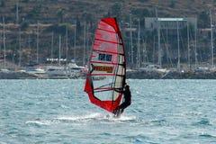 Alacati windsurf raj Fotografia Royalty Free