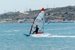 Alacati windsurf raj Zdjęcia Royalty Free