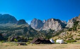 Aladaglar Mountains. View of the Aladaglar from Emli Valley Royalty Free Stock Images