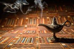 Aladdin-Öllampe Lizenzfreie Stockbilder