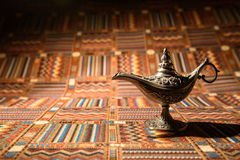 Aladdin-Öllampe Lizenzfreies Stockfoto