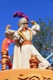 Aladdin σε Disneyland Στοκ Εικόνες