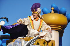 Aladdin in A Dream Come True Celebrate Parade Stock Photography