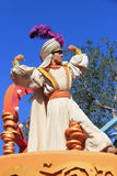 Aladdin en Disneyland Foto de archivo