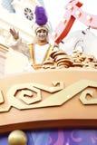 Aladdin i Disneyland ståtar arkivbild