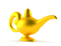 Aladdin lamp Royalty Free Stock Image