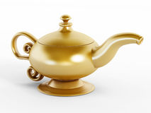 Aladdin lamp Royalty Free Stock Photos