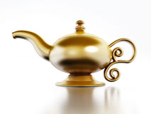 Aladdin lamp Stock Photo