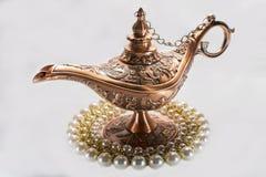 Aladdin lampa Zdjęcia Stock