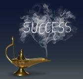 Aladdin& x27 ; lampe de magie de s Photographie stock libre de droits