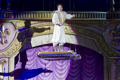 Aladdin and the Magic Carpet High in the Air Royalty Free Stock Photo