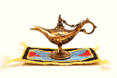 Aladdin magic lamp Royalty Free Stock Photos