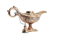 Aladdin magic lamp Royalty Free Stock Images