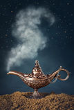 Aladdin magic lamp Stock Photo