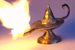 Aladdin's lamp 1 Royalty Free Stock Images