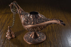 Aladdin's lamp Stock Photography