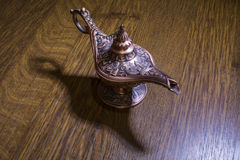 Aladdin's lamp Royalty Free Stock Photography