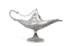 Aladdin's magic lamp Royalty Free Stock Photos