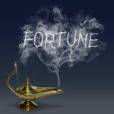 Aladdin& x27; lâmpada da mágica de s Foto de Stock