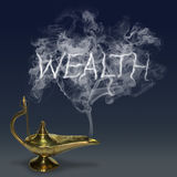 Aladdin's Magic Lamp Royalty Free Stock Image