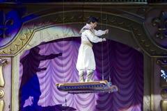 Aladdin y la alfombra mágica Fotografía de archivo