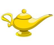 Aladdins lampa vektor illustrationer