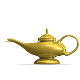 Aladdins magical lamp Royalty Free Stock Images