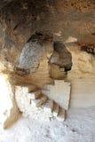 ALADZA rock monastery, Bulgaria royalty free stock photo