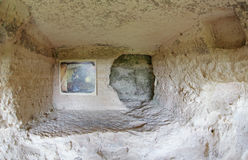 ALADZA rock monastery, Bulgaria Royalty Free Stock Image