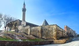 The Alaeddin citadel complex in Konya Stock Images