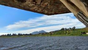 Alahan Panjang Village& x27; s Weergeven royalty-vrije stock fotografie