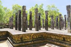 Alahana Parivena, Polonnaruwa, Sri Lanka. Image of the Pavillion at Alahana Parivena, Polonnaruwa, Sri Lanka. Built by King Parakramabahu the Great (1153-1186) Stock Photography