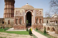 Alai Darwaza at Qutub Complex, New Delhi Stock Photography