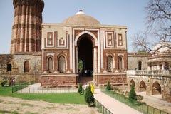Alai Darwaza at Qutub Complex, New Delhi. Alai Darwaza was built by Ala-ud-din Khilji in the year 1311 Stock Photography