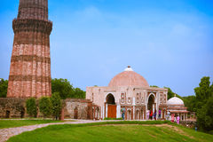 Alai Gate in Qutb complex, Delhi, India Royalty Free Stock Photography