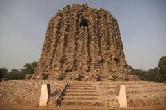 Alai Minar Stock Photo