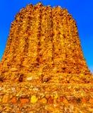 Alai Minar de Khalji no complexo de Qutab - Nova Deli, Índia foto de stock