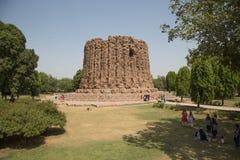 Alai Minar, Qutub σύνθετο, Δελχί, Ινδία στοκ εικόνες με δικαίωμα ελεύθερης χρήσης