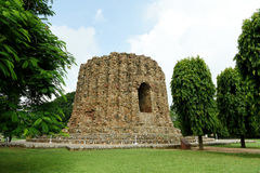 Alai Minar (qutub Minar) Stock Afbeelding