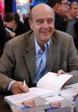 alain前面的法国juppe部长最初 免版税库存照片