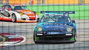 Alain Li que compite con en la taza Asia de Porsche Carrera Fotografía de archivo