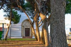 Alaior popołudnie, Menorca, balearic wyspy, Hiszpania Obraz Stock