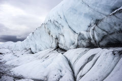 Alaksa Glacier Up Close Royalty Free Stock Photo