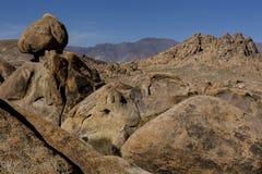 Alamba Hills, rock detail Stock Photos