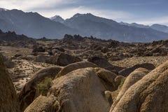 Alamba Hills, rock detail Royalty Free Stock Images