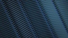 Alambre abstracto en color azul
