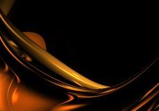 Alambre anaranjado Foto de archivo
