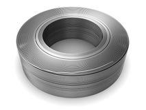 Alambre de aluminio 3d Imágenes de archivo libres de regalías